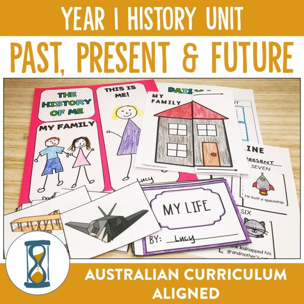 Year 1 History Unit | Ridgy Didge Resources | Australia