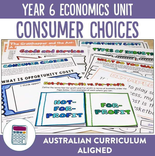 Year 6 Economics Unit | Ridgy Didge Resources | Australia