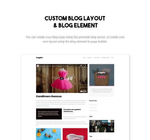 Anggita - One Page Portfolio Theme - 2