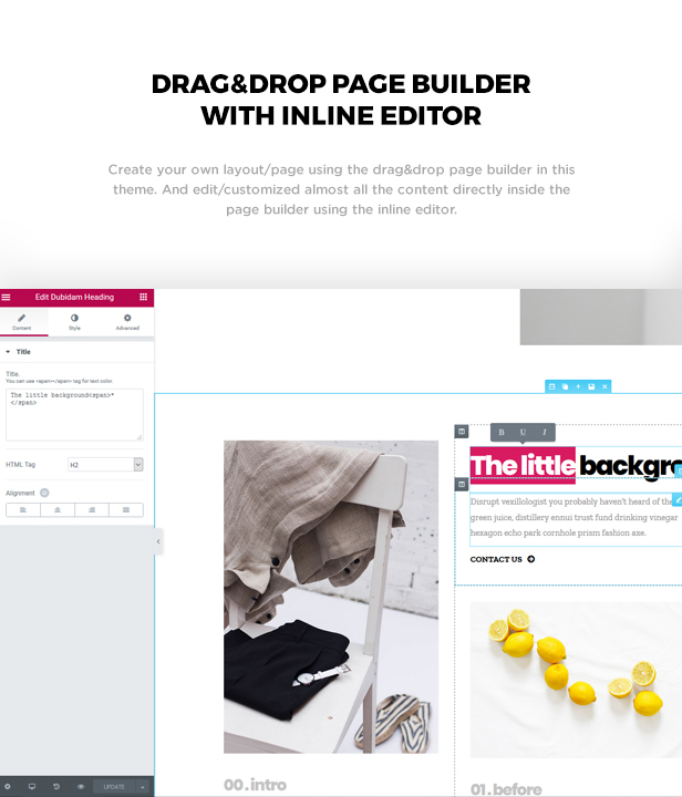 Dubidam - Creative Multi Concept & One Page Portfolio Theme - 3