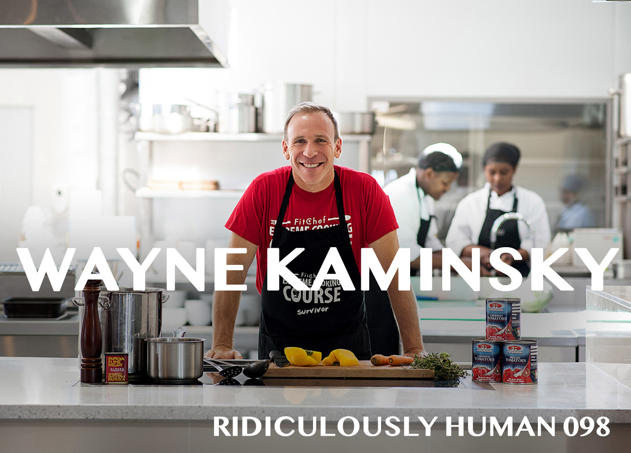Wayne Kaminsky, Health Expert, Designer, Endurance Athlete, Experimenter and CEO of Fitchef