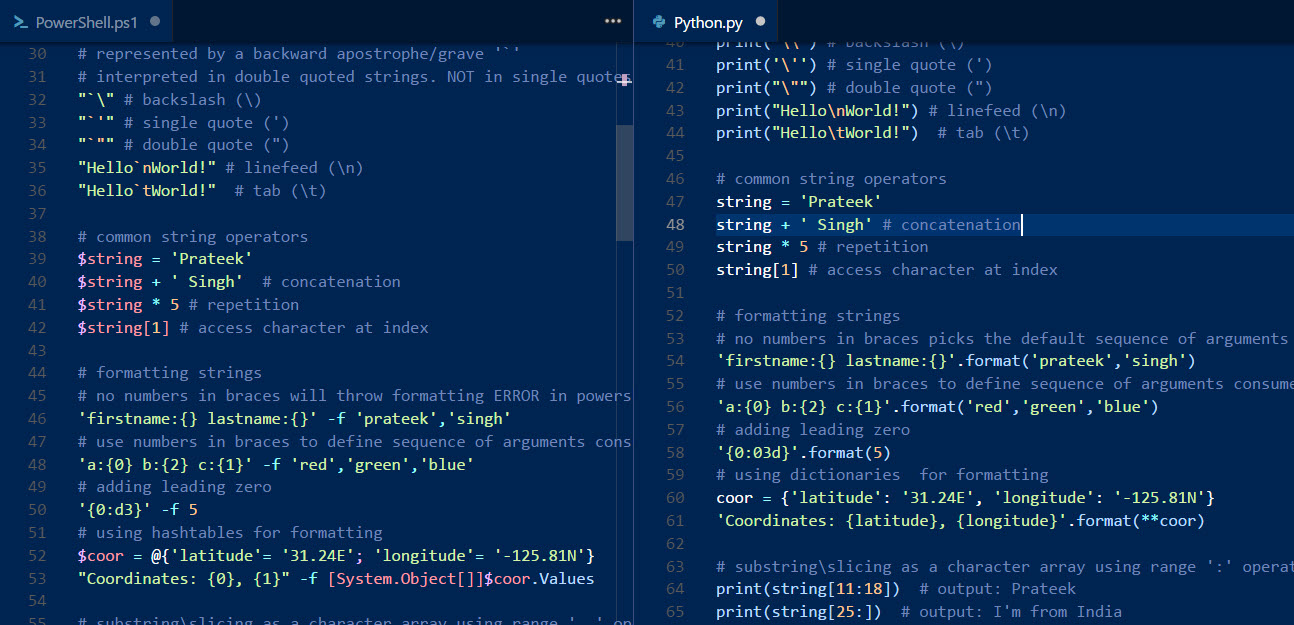 PowerShell Scripting guide to Python | Part-2 | RidiCurious com