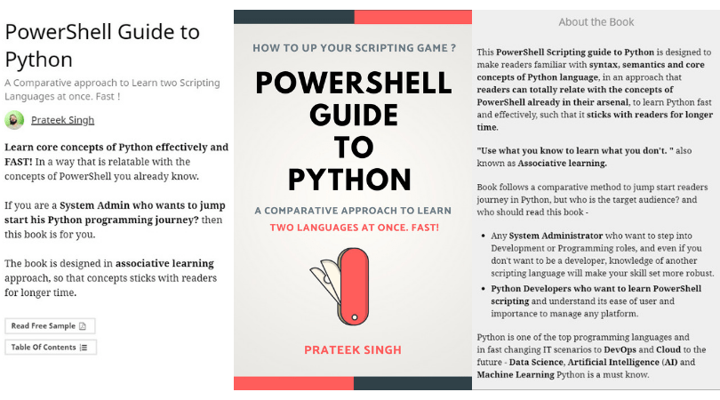 Book Update: PowerShell Guide to Python is 90% Complete