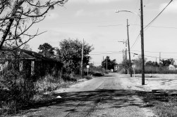 The Lower 9th. One of the districts worst affected by Hurricane Katrina. It has never really recovered. Standing here, listening to the sound of silence was poignant moment. New Orleans, LA, USA