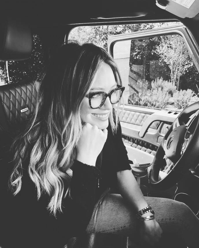 Hilary Duff on Ridin'Girls Blog