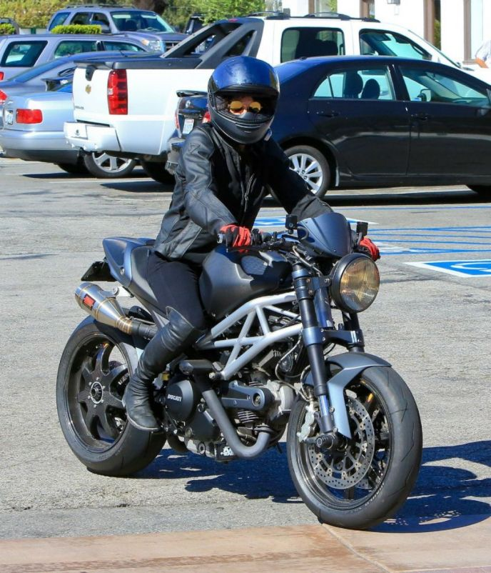 Michelle Rodriguez on Ridin