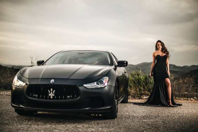 Samantha Reagan Bonilla & Maserati Ghibli on Ridin'GirlsBlog