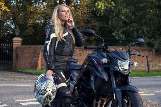Suzuki GSX-S750 on RidinGirlsBlog