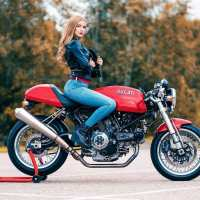 Photoshoot of the Week: June 10th-16th 2019 - Miila & Ducati Sportclassic