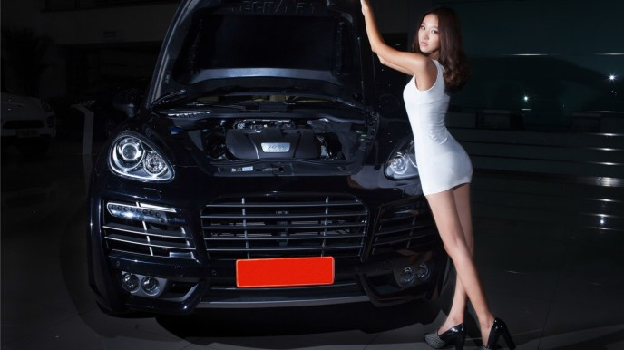 Porsche Cayenne on RidinGirlsBlog