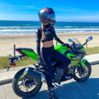 Photoshoot of the Week: June 1st-7th 2020 - Kawasaki Ninja 400 & Dionne-Alojzija