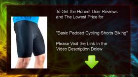Buy Cheap Basic Padded Cycling Shorts Biking : Review And Discount