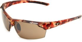 Tifosi Jet 0210401071 Wrap Sunglasses,Tortoise Frame/Brown Lens,One Size