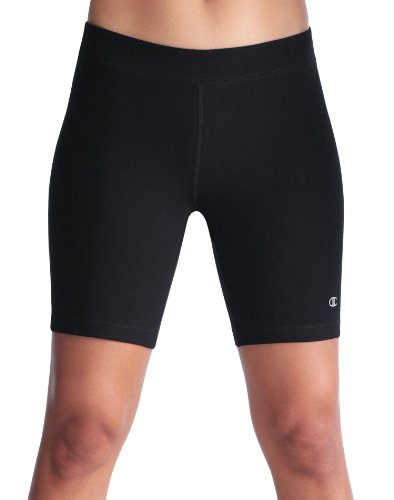 Champion Double Dry® Cotton-Rich FITTED 7″ Women's Bike Shorts # 8254