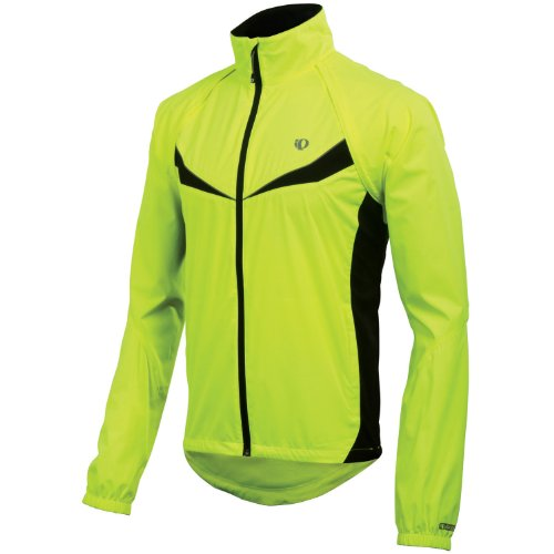 Pearl Izumi Men's Elite Barrier Convertible Jacket,Screaming Yellow/Black,Small