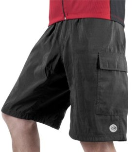 Men's ATD Cargo Short Baggy Padded Mountain Bike Cycling Shorts