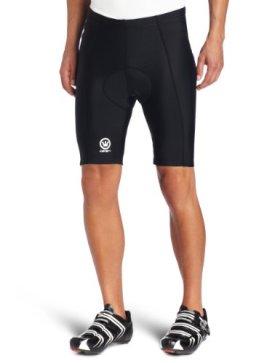 Canari Cyclewear Men's Velo Gel Padded Cycling Short (Black, Large)
