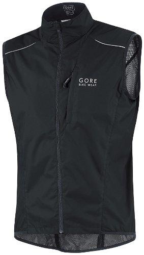 Gore Bike Wear Men's Countdown Active Shell Vest,Black,Small