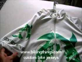 bike jerseys earth green ecologic bike jersey, save the panet green business jerseys.wmv