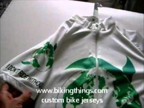 bike jerseys earth green ecologic bike jersey, save the panet green business jerseys.wmv