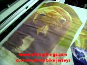 custom photograph bike jerseys, nature and animals bike jerseys customized for a photo service.wmv