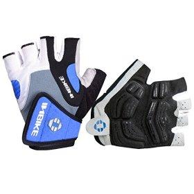 Inbike 5mm Gel Pad Half Finger Cycling Gloves