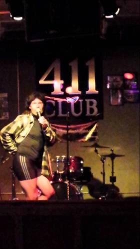 Bike shorts karaoke