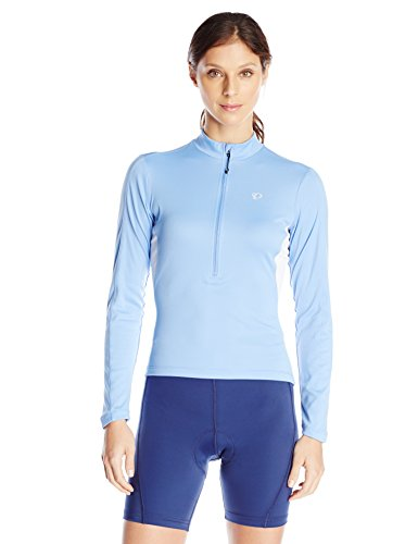 Pearl Izumi – Ride Women's Select Long Sleeve Jersey, Blue Haze, Medium