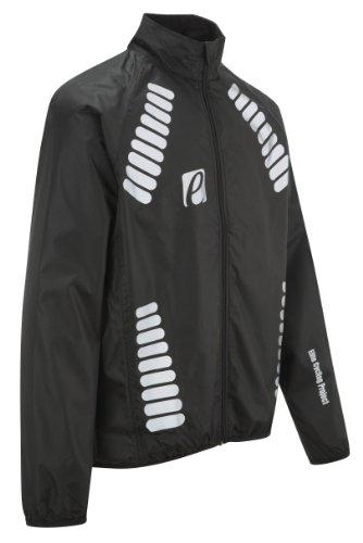Elite Cycling Project Men's Cyclone Waterproof Cycling Jacket Black L