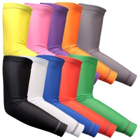 Suddora Sports Arm Sleeve Pair – Athletic Arm Sleeves (Available in 10 different colors)