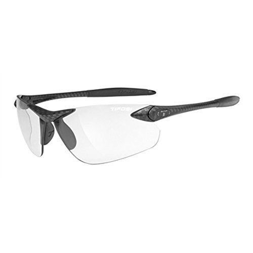 Tifosi Seek FC 0190300731 Wrap Sunglasses,Carbon Frame/Light Night Lens,One Size