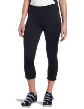 Pearl Izumi Women's Sugar Thermal Cycling 3-Quater Tight, Black, Large