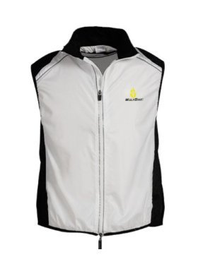 WOLFBIKE Cycling Vest Jersey for Men Sleeveless, White, Size: M