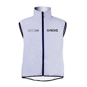 Proviz Reflect360 Mens Gilet Sleeveless Jacket, Fully Reflective, X-Large
