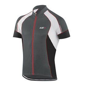 Louis Garneau Lemmon Vent Jersey – Short-Sleeve – Men's Iron Gray, M