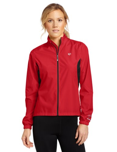 Pearl Izumi Women's Select Barrier Jacket, True Red, Small