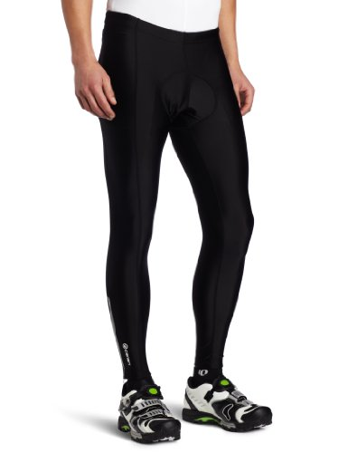 Canari Cyclewear Men's Pro Elite Gel Cycle Tights, Black, XX-Large
