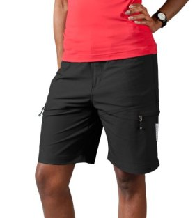 Women's Multi-Sport Shorts, color Black, size XX-Large