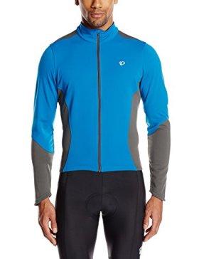 Pearl Izumi – Ride Men's Select Thermal Jersey, Mykonos/Shadow Grey, Large