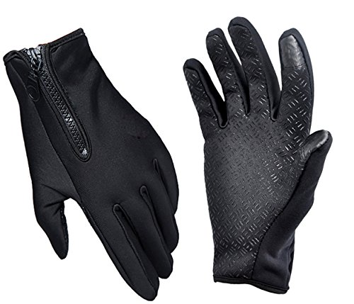 Cold Weather Gloves With Credit Card Knife by Orange Oyster