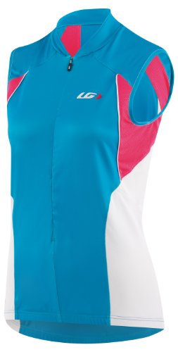 Louis Garneau Women's Beeze Vent Sleeveless Cycling Jersey, Atomic Blue, Small