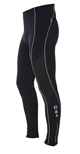 4ucycling Lambda Men's Black Silicone Gel Padded Compression Tights