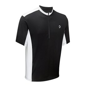 Tenn Mens Coolflo S/S Cycling Jersey – Black/White – XL
