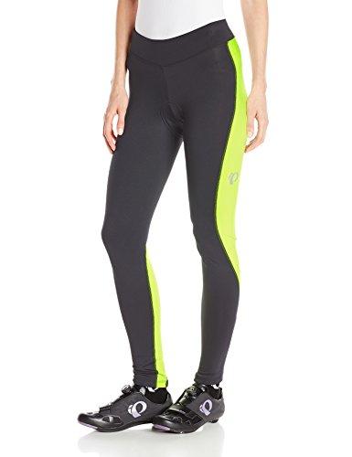 Pearl Izumi – Ride Women's Sugar Thermal Cycling Tights, Large, Black/Screaming Yellow