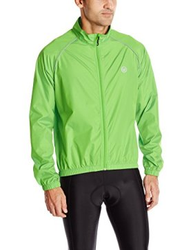 Canari Men's Microlyte Shell Jacket, Exto Green, Medium