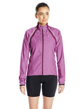 Pearl Izumi – Ride Women's Elite Barrier Convert Jacket, X-Large, Meadow Mauve/Dark Purple