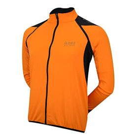 GORE BIKE WEAR Men's Phantom 2.0 Soft Shell Jacket, JWPHAS, Vibrant Orange/Black, M