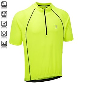 Tenn Mens Sprint S/S Cycling Shirt/Jersey – Hi-Viz Yellow – Lrg