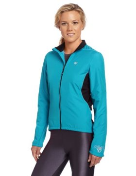 Pearl Izumi Women's Select Thermal Barrier Jacket, X-Large, Scuba Blue