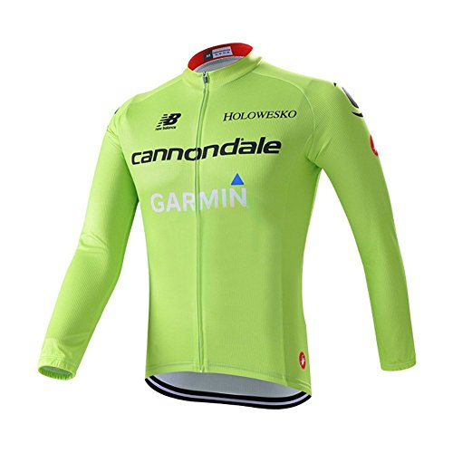 Outcycling Outdoor Sports Pro Team Men's Long Sleeves Cycling Jacket Windproof Jersey